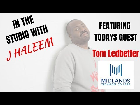 In The Studio: Tom Ledbetter (Midlands Technical College)