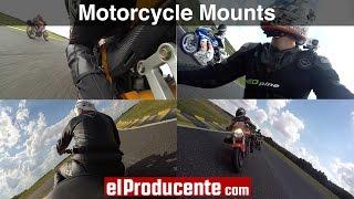 GoPro Motorcycle Mount - Top 5 positions & mounts