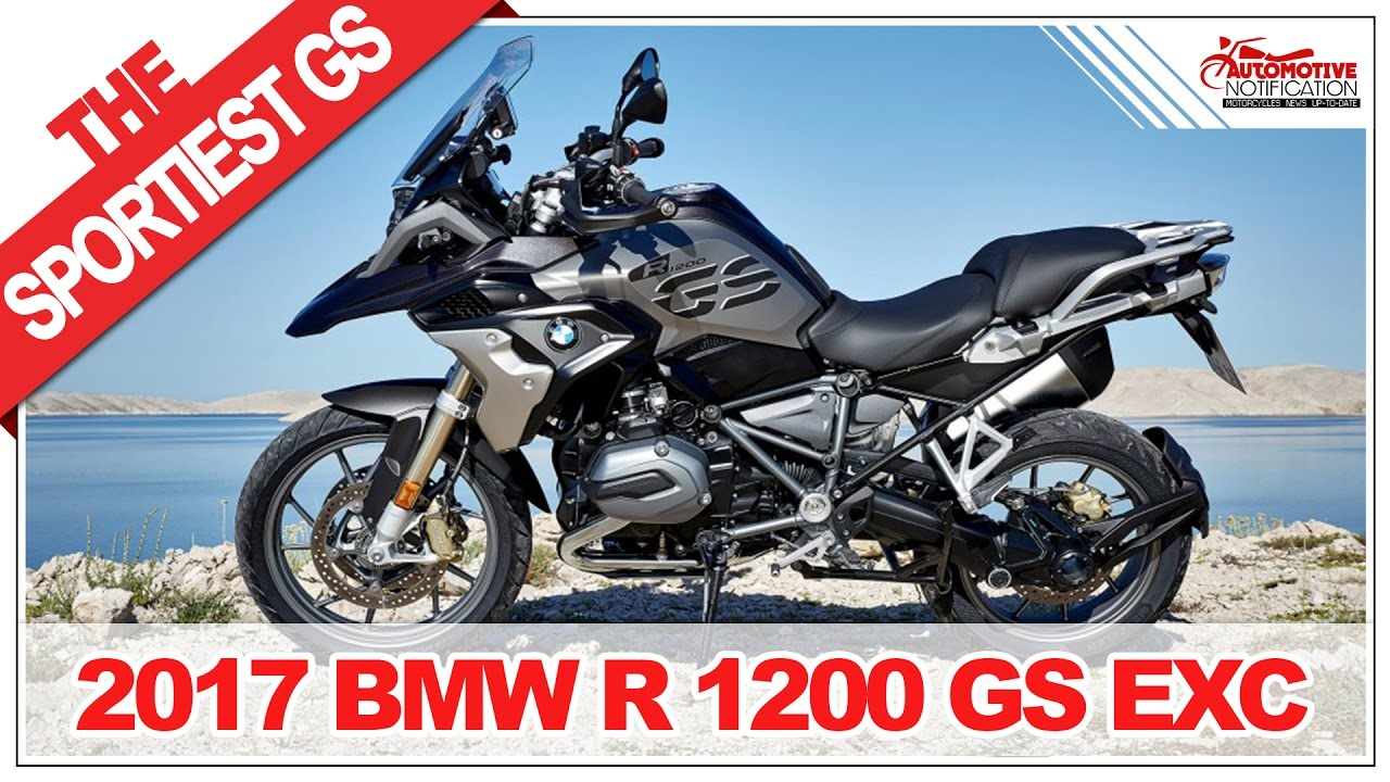looks sporty 2017 bmw r 1200 gs exclusive price. Black Bedroom Furniture Sets. Home Design Ideas