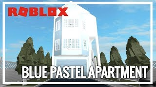 ROBLOX | Welcome To Bloxburg | Blue Pastel Apartment
