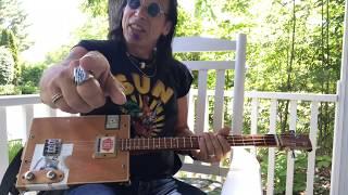 London calling The Clash lesson for 3 string Cigar Box Guitars