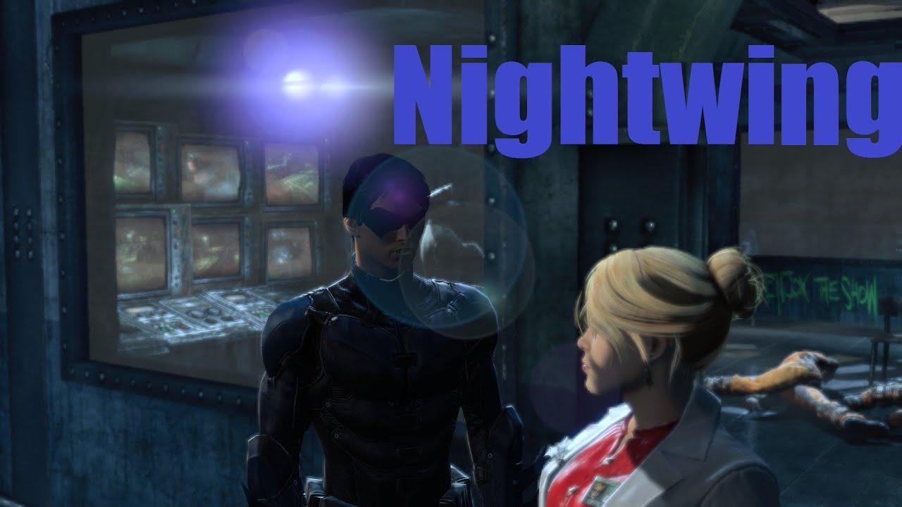 batman arkham origins nightwing mod youtube