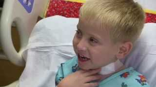 Emmett Rauch has trach removed at Cincinnati Children