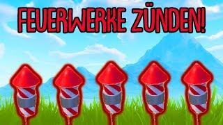 Fortnite: Zünde Feuerwerk!   Herausforderung Woche 4