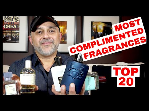 Top 20 Most Complimented Fragrances | My 20 Most Compliment Getter Fragrances