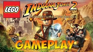 Lego Indiana Jones 2: The Adventure Continues - Gameplay (Nintendo DS)