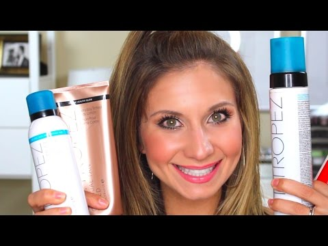 Sunless Self Tanner Product Reviews: St Tropez and Rodan + Fields Sunless Tanners