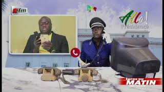 Infos du matin - 20 Août 2020 - ALLÔ PRÉSIDENCE:  Per Bu Xar, Doyen & Ndiaye