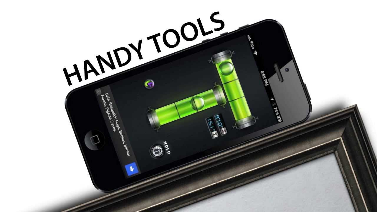 9 best free handy tools apps for iphone ipod ipad youtube. Black Bedroom Furniture Sets. Home Design Ideas
