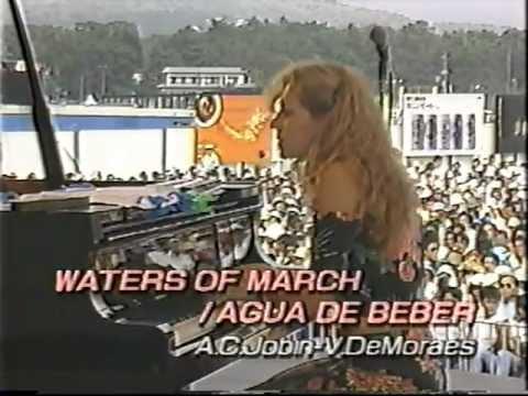 Eliane Elias Trio / Waters of March ~ Agua de Beber (1990)
