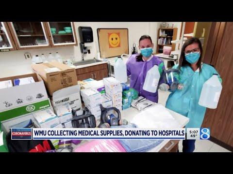 WMU Donating Medical Equipment To Hospitals