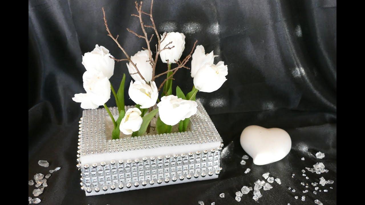 fr hlingsgesteck diy fr hlingsdeko basteln diy. Black Bedroom Furniture Sets. Home Design Ideas
