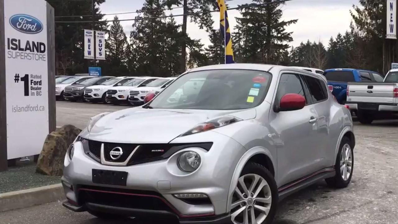 2013 Nissan JUKE SL AWD Nismo+Backup Camera Review| Island Ford   YouTube