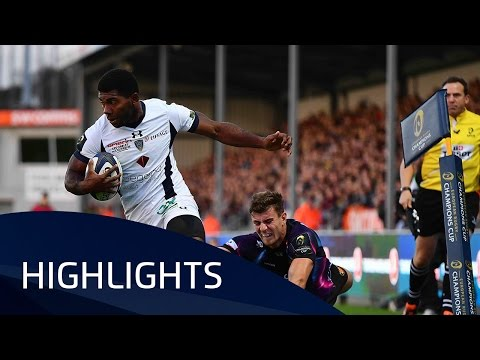 Exeter Chiefs v ASM Clermont Auvergne (Pool 5) Highlights – 16.10.2016