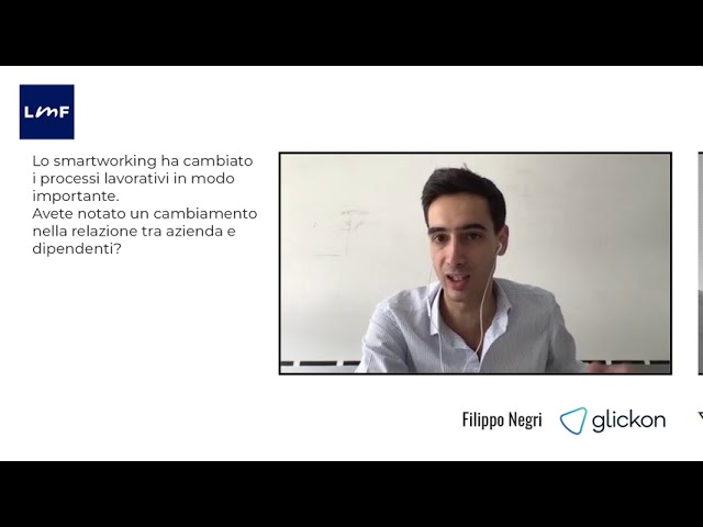 Il cambiamento della relazione tra azienda e dipendente - Filippo Negri (Glockon)
