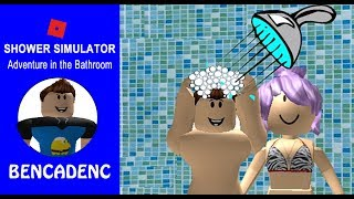ROBLOX SHOWER SIMULATOR | SHOWER STEAMER
