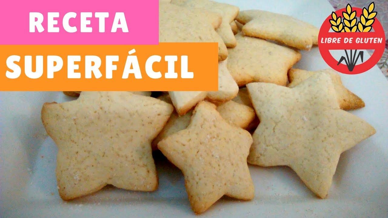 Galletas Sin Gluten Y Sin Lactosa Receta Fácil Y Económica