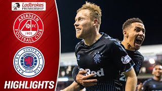 Aberdeen 2-2 Rangers | The Dons' Comeback Snatches a Draw with Rangers | Ladbrokes Premiership