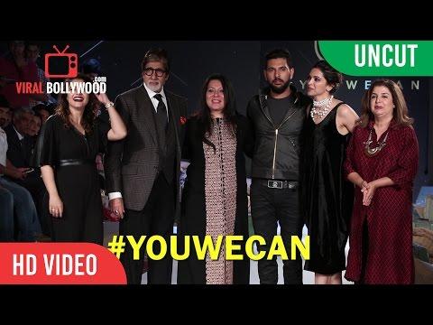 UNCUT - YWC Fashion Show 2016 #YOUWECAN Cancer Foundation | Deepika, Amitabh, Kajol, Yuvraj, Gayle,