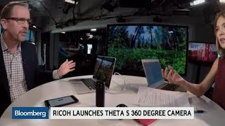 Ricoh: The Future Potential for 360 Degree Cameras
