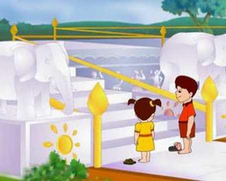 jain temple animation