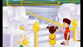 templo jain de animación