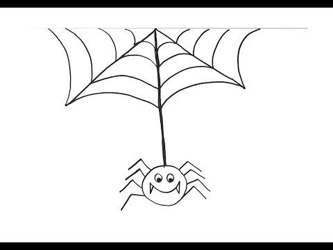 ألوان فرح درس ٥ كيف ارسم عنكبوت Youtube