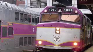 [KEOLIS/MBTA HD] THE FLYER RETURNS! CapeFLYER Walk-Around & Departure from South Station