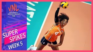 Super Spikes of the Week 5   Women's VNL Volleyball 2019