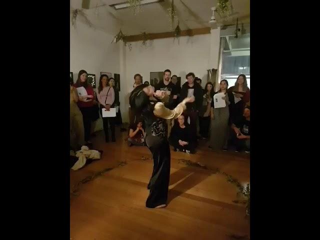 Jîyan immersive exhibition performance by Maggie