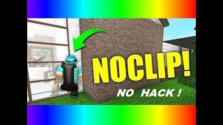 How to walk Through wall on roblox !! NO HACK !! 2019 *working*