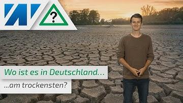 Wüste Deutschland: So trocken ist es in Deutschland schon gewesen! (Mod.: Simon Schöfl)
