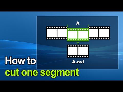 Bandicut Video Cutter - How to cut one segment
