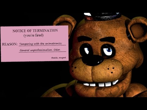 Got fired five nights at freddy s alternate ending 6 youtube
