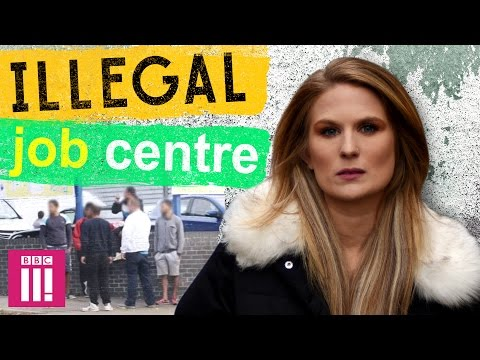 Inside Britain's Illegal Job Centre