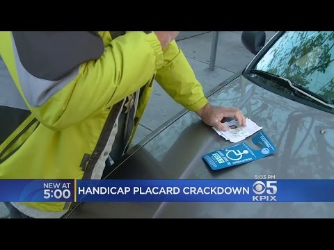 DMV Sting Catches Handicap Parking Placard Violators