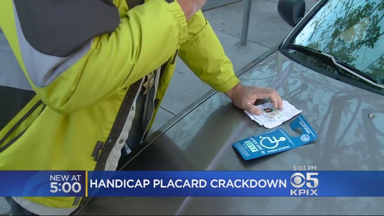 DMV Sting Catches Handicap Parking Placard Violators & DMV Sting Catches Handicap Parking Placard Violators - YouTube