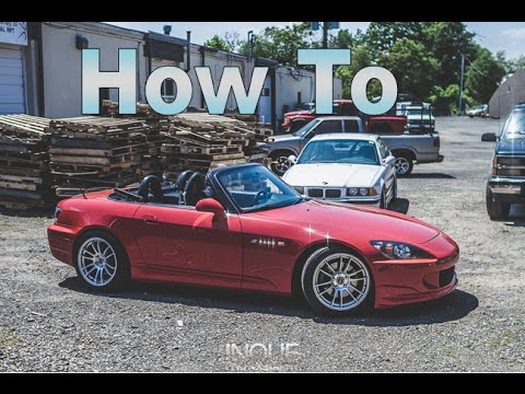 How to install a Honda S2000 Hard Top - GQM Garage