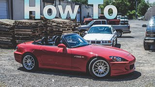 How to install a Honda S2000 Hard Top - The GQM Garage Show