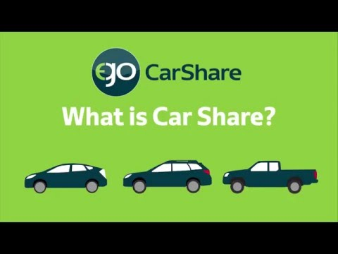 Ego Car Share >> What Is Carsharing Ego Carshare