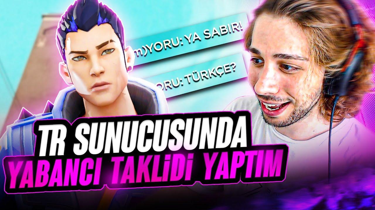 Download TR SUNUCUSUNDA YABANCI TAKLİDİ YAPIP TROLLEDİM İNANDILAR   VALORANT