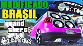 GTA Modificado Brasil Gameplay