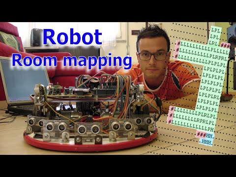 Arduino Robot, Room Mapping.