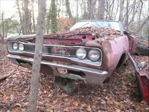 Virginia Junkyard Muscle Cars