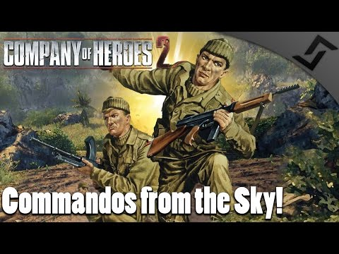 Commandos from the Sky! - Company of Heroes 2 - Spearhead Mod