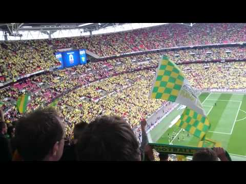 NORWICH CITY at Wembley 2015 - Daydream Believer