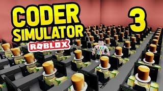 devenir un milliardaire - simulateur de codeur roblox #3