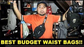 BEST BUDGET BELT BAGS / WAIST PACKS FOR THAT HYPEBEAST LOOK!!