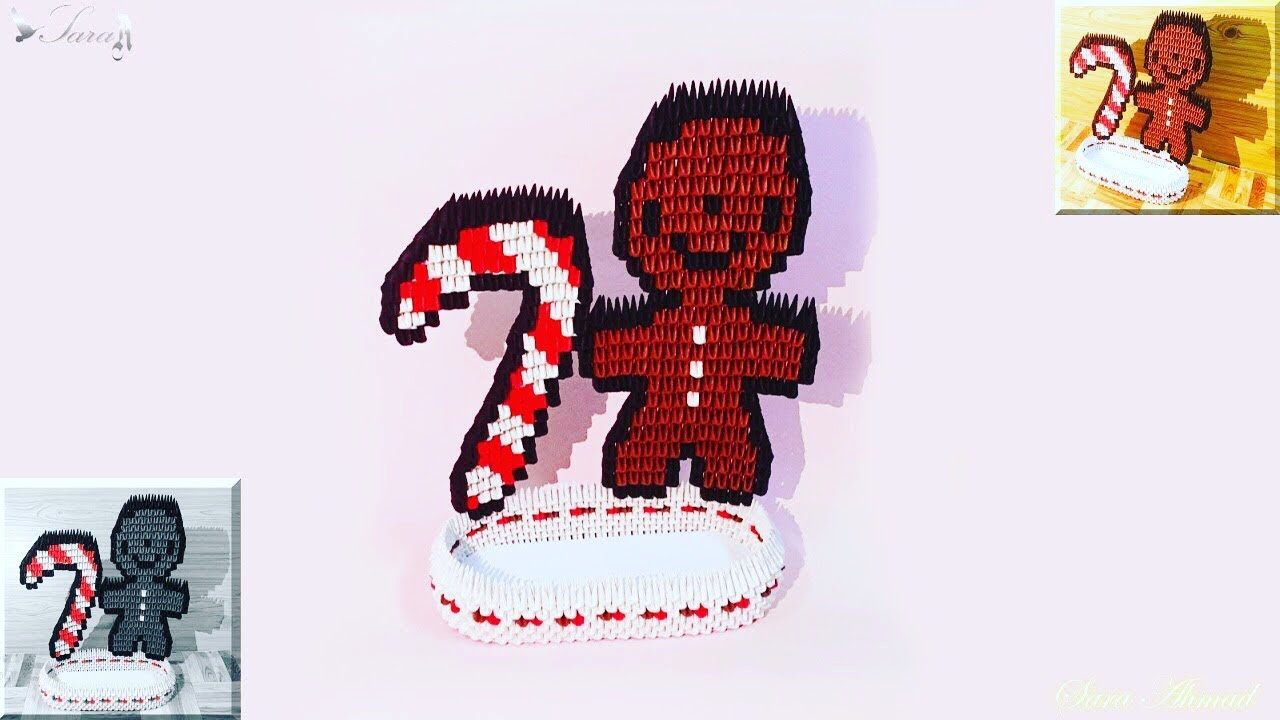 Gingerbread Man Doll Chain   720x1280