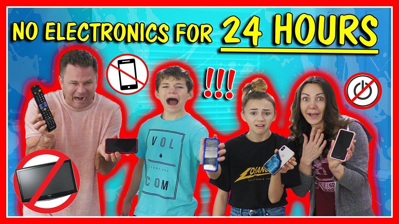 24 STUNDEN KEINE TECHNOLOGIE KEINE LEISTUNG! | Wir sind die Davises + video
